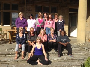 The September 2013 yoga retreat.