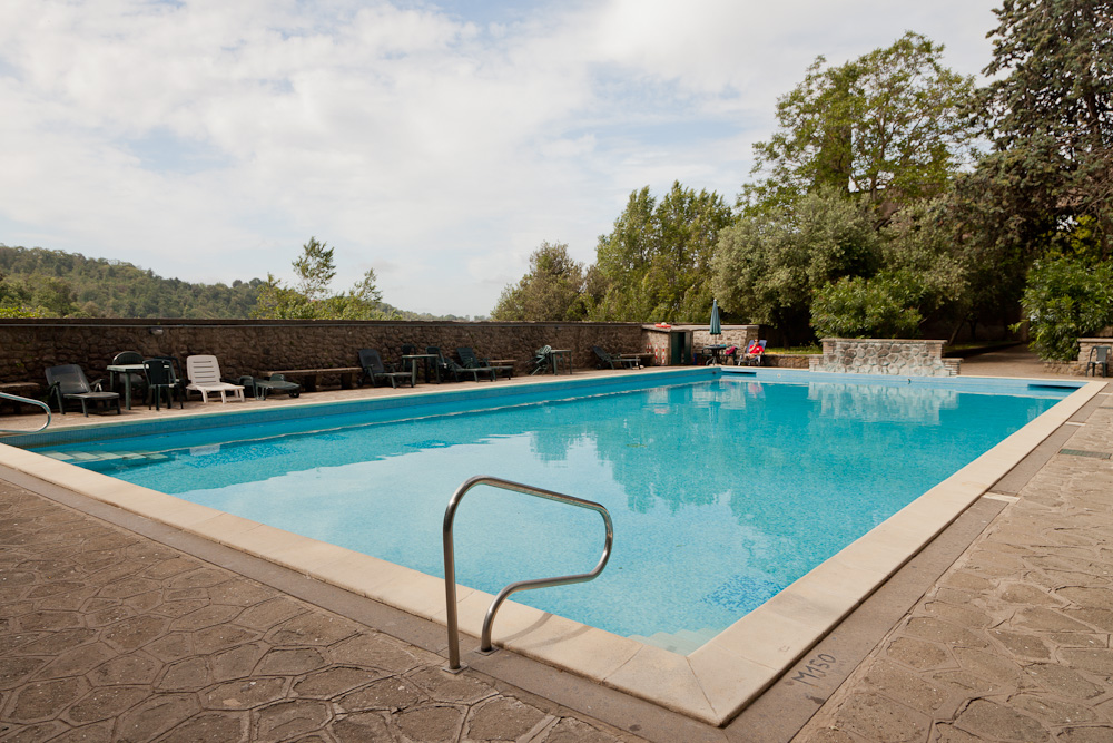Relax by the Pool, it's still a holiday after all! Rose's Yoga Holidays