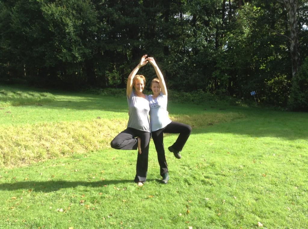 September 2013 outdoor yoga retreat
